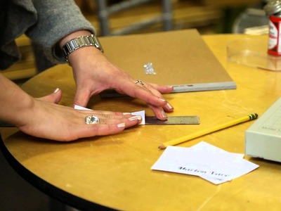 Making Place Cards for a 50th Birthday Party : Party & Event Decorations