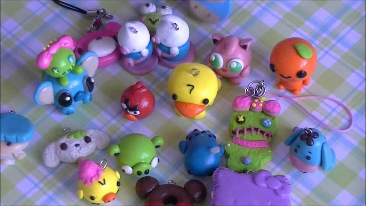 My Character Polymer Clay Charms