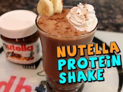 Nutella PROTEIN Shake Recipe