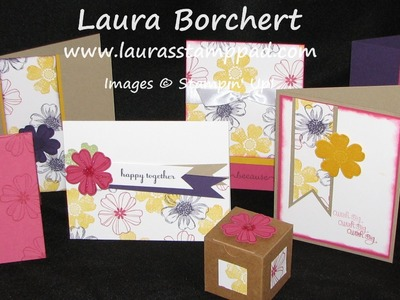 One Sheet Wonder Card Technique - Laura's Stamp Pad
