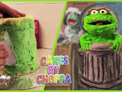 Oscar the Grouch Cake (How To)