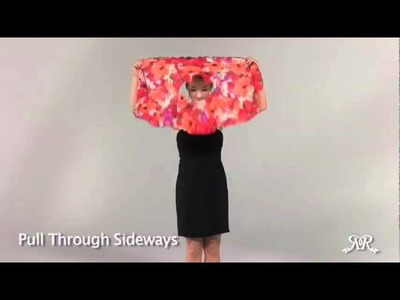"Pirose by Reno Rose 12 Ways ""How to"" Fashion Video Professional Cut"