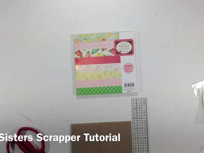 Pocket Page Mini Album Tutorial Series Part 1