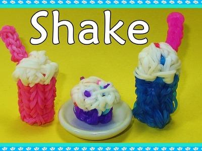 Rainbow Loom Charms: 3D Shake. Frappe Charm