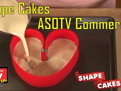 Shape Cakes As Seen On TV Commercial Buy Shape Cakes As Seen On TV Shapeable Cake Pans