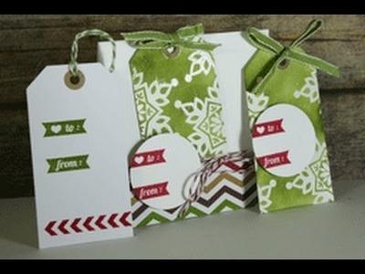 Stamp a tag kit (Kickin' it up a notch)