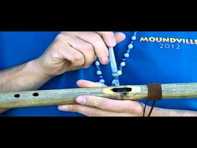 The secret to making Native American Flutes
