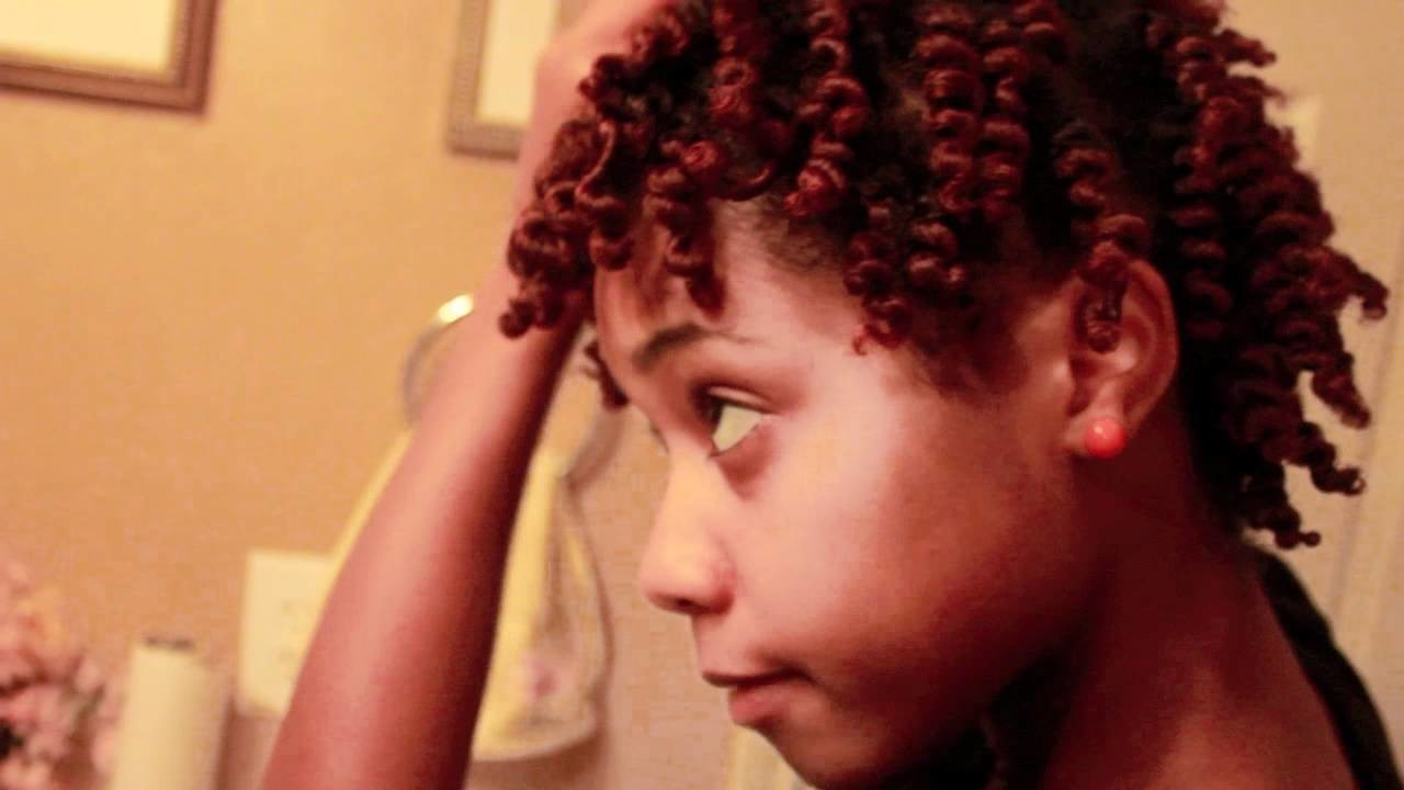 Toni's Twist Out Tutorial & Hair Color