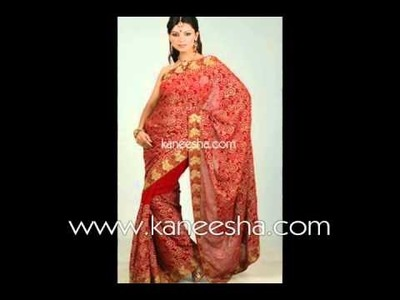 Traditional Saree Blouse Designs, Hand Embroidery Saree