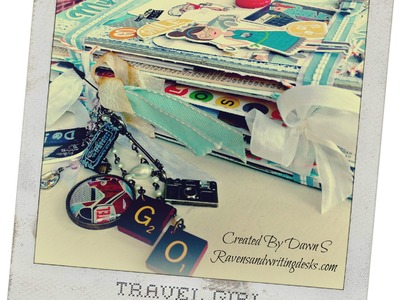Travel Girl Mini Album Tutorial