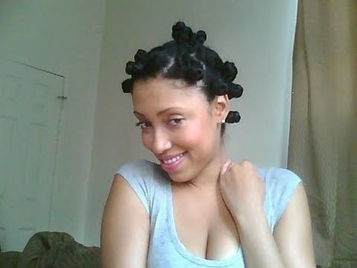 "Tutorial: ""BANTU KNOT OUT"""