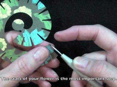 Tutorial Tuesday: Flowers using Die-namics by My Favorite Things (bilingue)