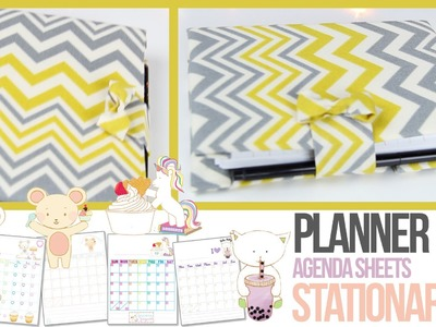 Agenda Tutorial - Planner & Stationery - How To Make Your Own Planner