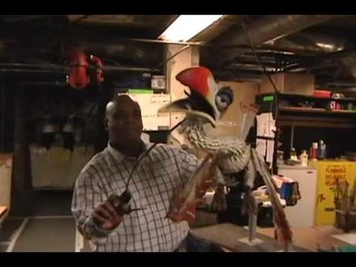 Backstage at The Lion King - Inside the Puppet and Mask Workshop