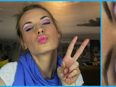 Barbie Makeup Tutorial! Barbie Doll Princess Makeup - Best Romantic Fun Colorful Makeup Look