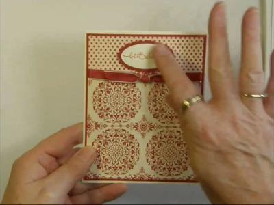 Best Wishes - Love Letter Designer Paper Card