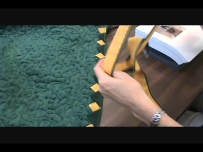 Binding a Quilt with Ruffles or Prairie Points.wmv