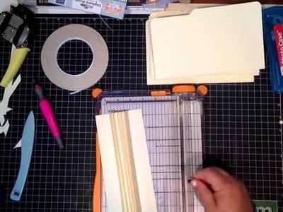 Binding file folder pt 2