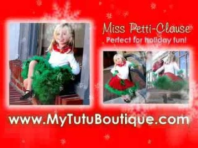 Christmas Tutu, Holiday Tutu Dresses and more!