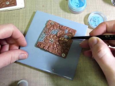 Clay Art Tile Tutorial Part 1
