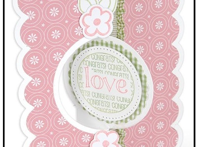 Create a Card with a Framelit Flip-it Die by the Designer, Stephanie Barnard!