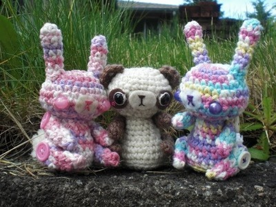 Cutest Bunny.Bear EVER - Amigurumi Tutorial