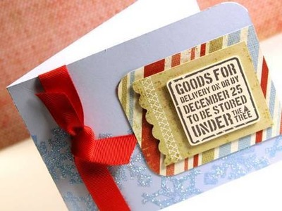 Day 15 - Holiday Card Series - Christmas Goods