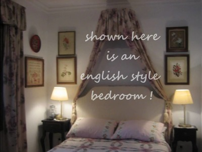 Decorate a small elegant bedroom.wmv