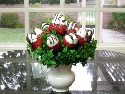 Decorate Chocolate Covered Strawberries