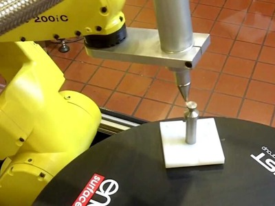 Enercon Robot Dyne-A-Mite IT Plasma Treating Demo