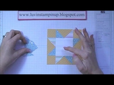 Episode 62 Star Quilt Block Card Tutorial