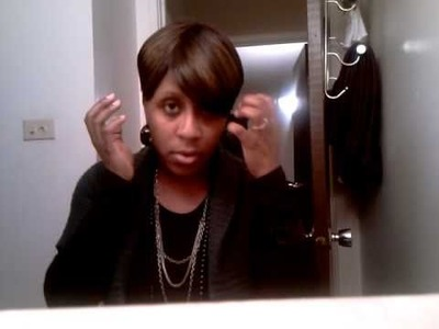 Fast & Easy Temporary Hair Color Motown Tress H Volta NeNe Leakes Inspired Wig Tutorial
