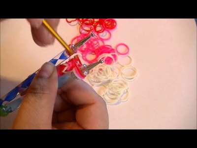 Fish tail loom band tutorial