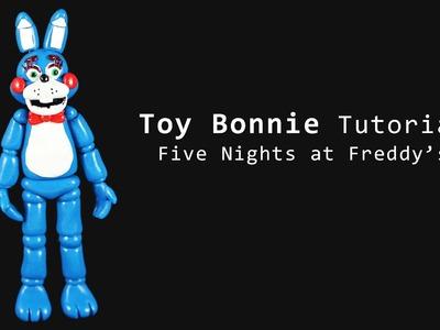 Five Nights at Freddy's 2 Toy Bonnie Polymer Clay Tutorial