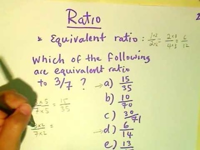Free math tutorial tutoring lesson - learning ratio concept with word problems