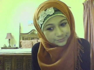 Hijab.scarf style with Laces and Bands.Hairbands