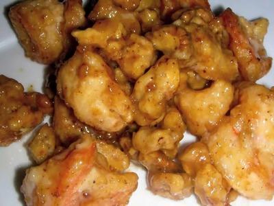 Honey Walnut Shrimp Recipe like Panda Express