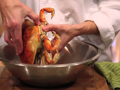 How to cook and clean a Dungeness crab