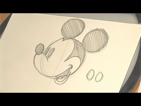 How to Draw Mickey Mouse | Disney Animation Tutorial | Babble