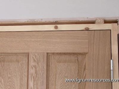 How to install a prehung doorset