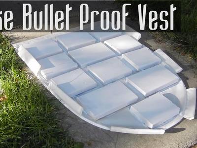 How to Make a Fake Bullet Proof Vest