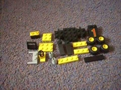 How to make a lego racing car