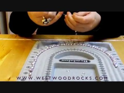 HOW TO MAKE A PEARL NECKLACE - WESTWOOD ROCKS - WORKSHOP CLIP #2