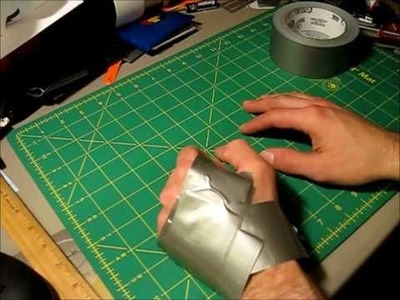 How to make Duct tape gloves