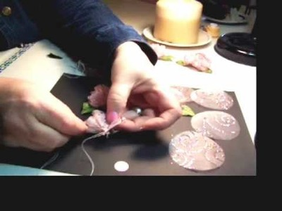 How to Make fabric flowers.wmv