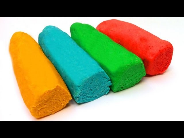 How to Make Play Doh easy playdo by unboxingsurpriseegg