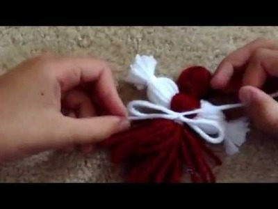 How to make yarn doll family's