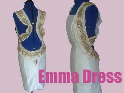 "How To Make Your Own Dress- ""Emma"" Dress - Part1"