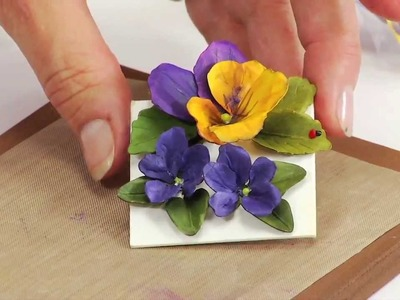 How to Use Sizzix Thinlits Pansy.Violet Flower Die 658419