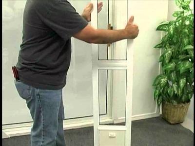 Installing The Modular Aluminum Patio Door By Idea Pet Products